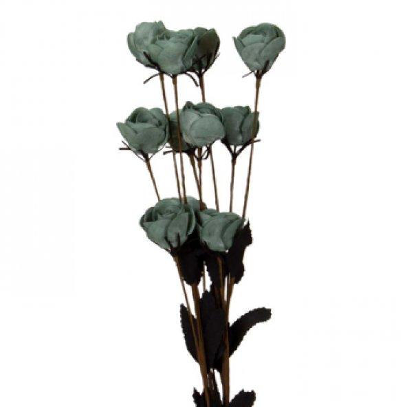 Mavi Tomurcuk Pıtır Demet Çiçek