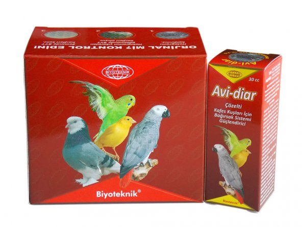 Kuşlar İçin Bağırsak Sistemi Geliştirici - Avi-Diar