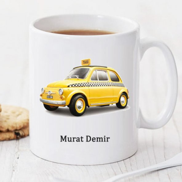 Taksi Kişiye Özel Kupa Pi189