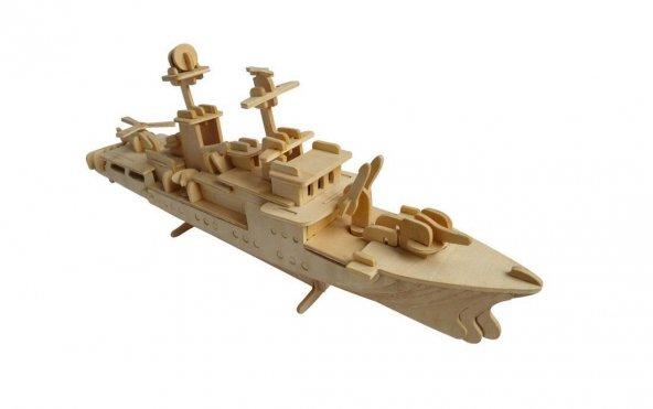 Destroyer Maketi - Dev Boy 3 Boyutlu Puzzle