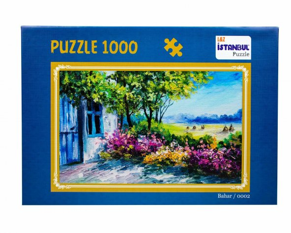 Puzzle 1000 Parça Bahar İstanbul Puzzle 48*68 cm