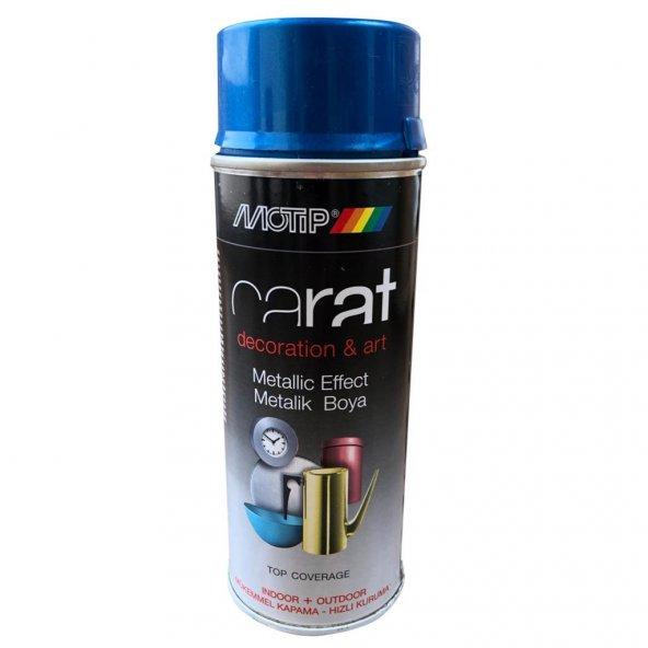 Motip Carat Parlak Metalik Mavi 400 ml. RAL 95878