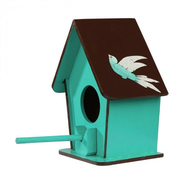 Dekoratif Kuş Yuvası Yeşil