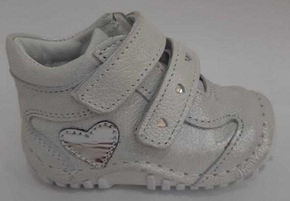 Pappikids246 Ortopedik Deri Kız  İlk Adım Ayakkabısı Bot
