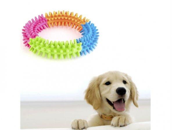Köpek Oyuncağı Yuvarlak  Diş Temizleyici Oyuncak