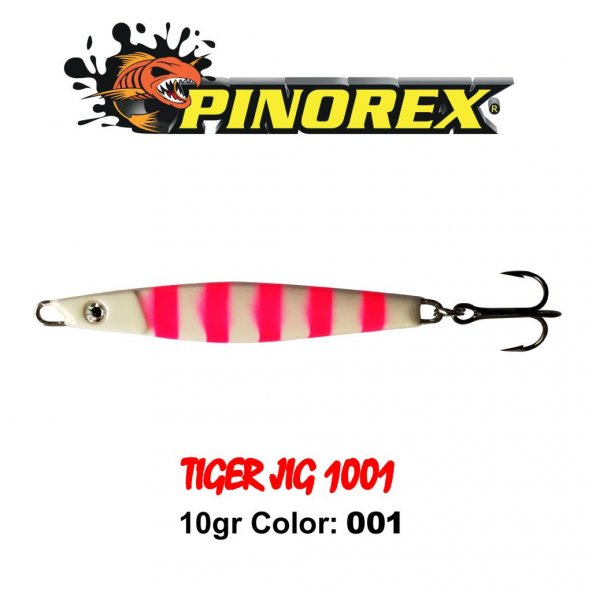 Pinorex 1001 Tiger Jig 6CM 10GR Color: 001