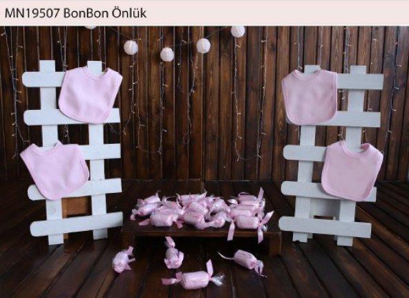 Bonbon Pembe Önlük Bebek Hastane Çıkış
