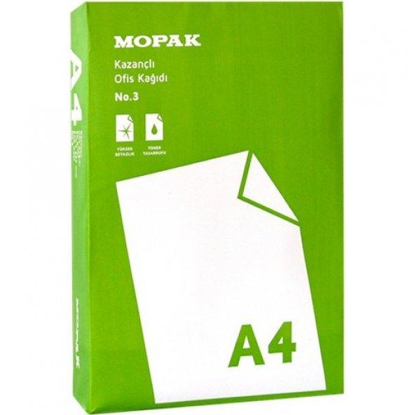 Mopak Kazançlı A4 80 gr 500 Yaprak Fotokopi Kağıdı