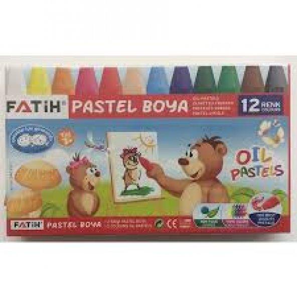 Fatih Pastel Boya 12 li