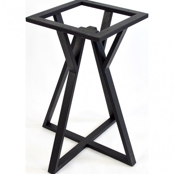 Payanda Siyah Köşe Masa Ayağı