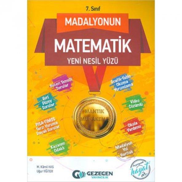 7.Sınıf Madalyonun Matematik Yeni Nesil Yüzü Gezegen Yayıncılık