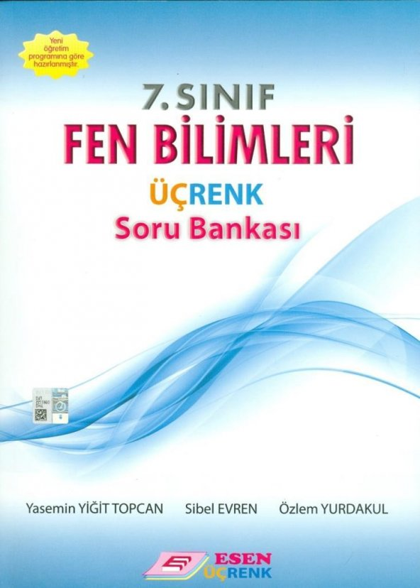 7. Sınıf Fen Bilimleri Soru Bankası Esen Üçrenk Yayınları