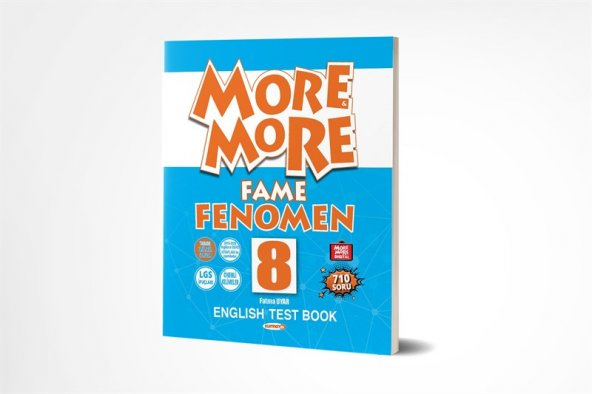 NEW More&More English 8 FAME Fenomen Kurmay Yayınları