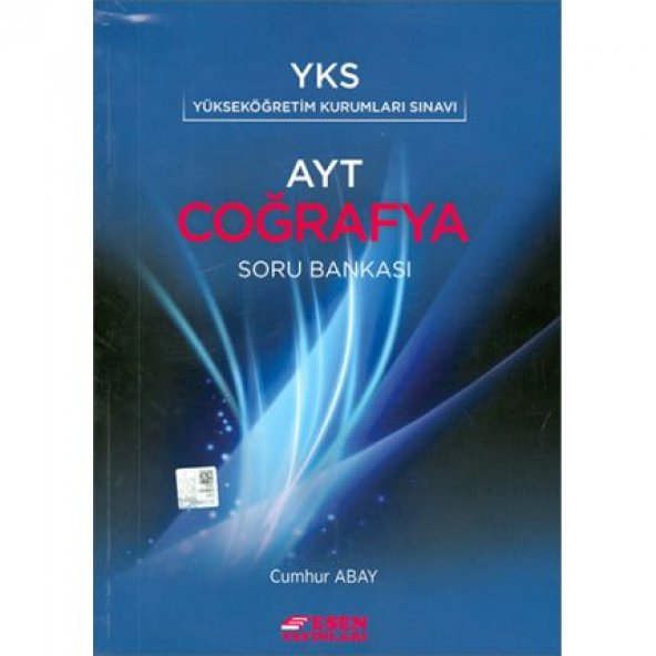 YKS AYT Coğrafya Soru Bankası Esen Yayınları