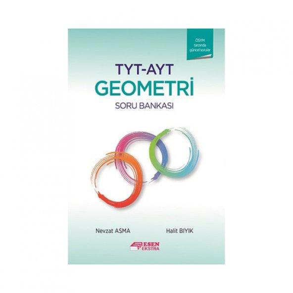 TYT-AYT Geometri Ekstra Soru Bankası Esen Yayınları