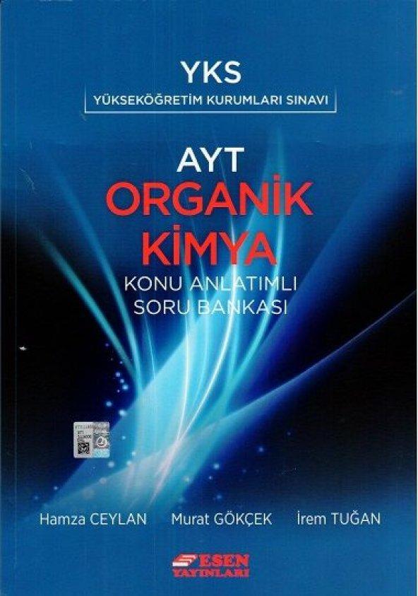 YKS AYT Organik Kimya Konu Anlatımlı Soru Bankası Esen Yayınları