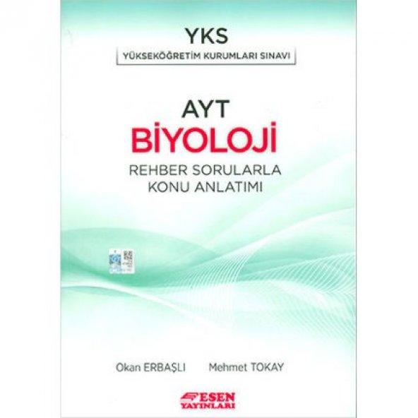 YKS AYT Biyoloji Rehber Sorularla Konu Anlatımı Esen Yayınları