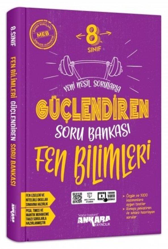 8. Sınıf Fen Bilimleri Güçlendiren Soru Bankası Ankara Yayıncılık