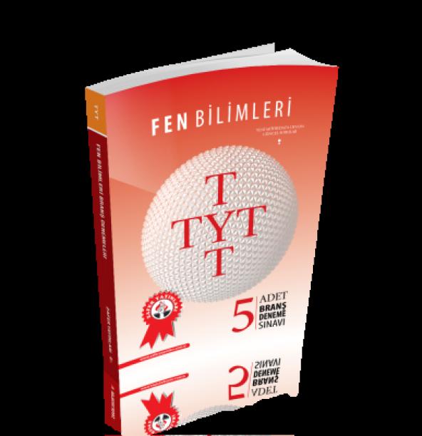 TYT Fen Bilimleri 5 Adet Branş Deneme Sınavı Zafer Yayınları