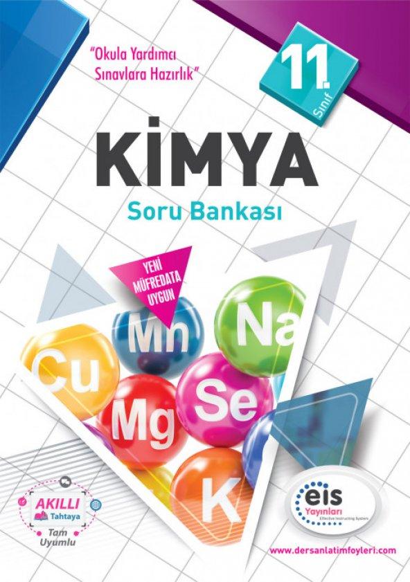 11. Sınıf Kimya Soru Bankası EİS Yayınları