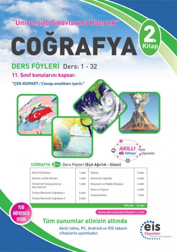 Üniversite Hazırlık Coğrafya 2.Kitap DAF EİS Yayınları