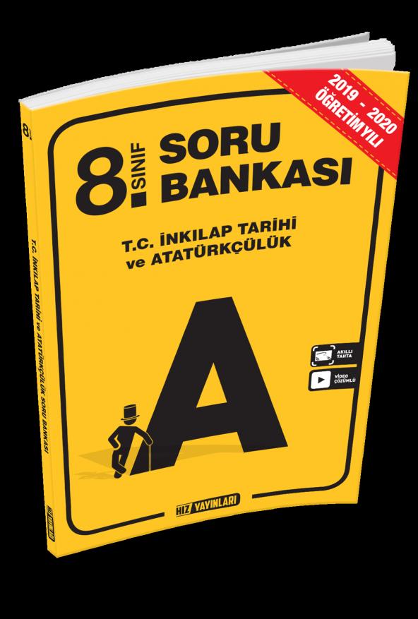 8. Sınıf T.C. İnkılap Tarihi Soru Bankası Hız Yayınları