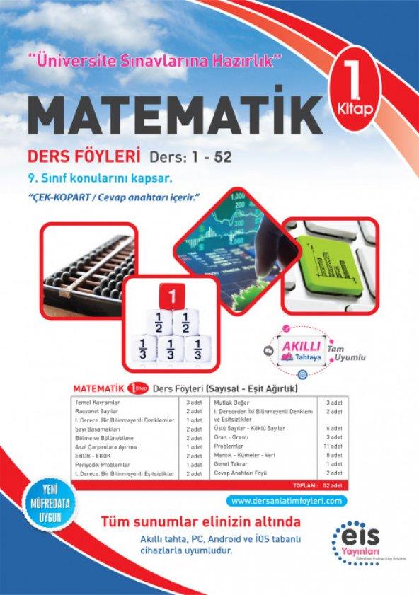 Üniversite Hazırlık Matematik 1.Kitap DAF EİS Yayınları