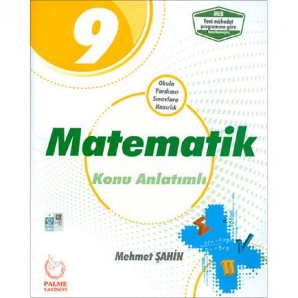 9. Sınıf Matematik Konu Anlatımlı 2019 Palme Yayınevi