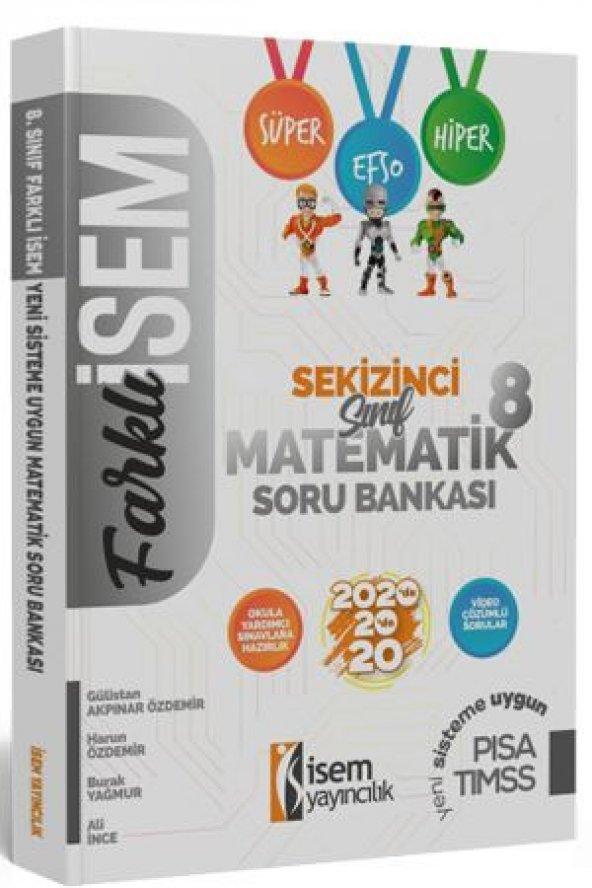 8. Sınıf Matematik Soru Bankası İsem Yayıncılık 2020