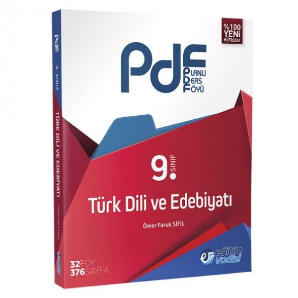 9.Sınıf Türk Dili Edebiyatı Planlı Ders Föyü Eğitim Vadisi