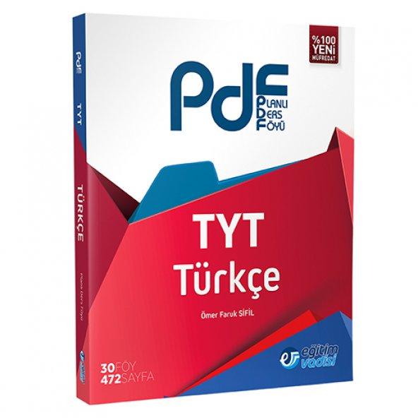 TYT Türkçe PDF Planlı Ders Föyü Eğitim Vadisi