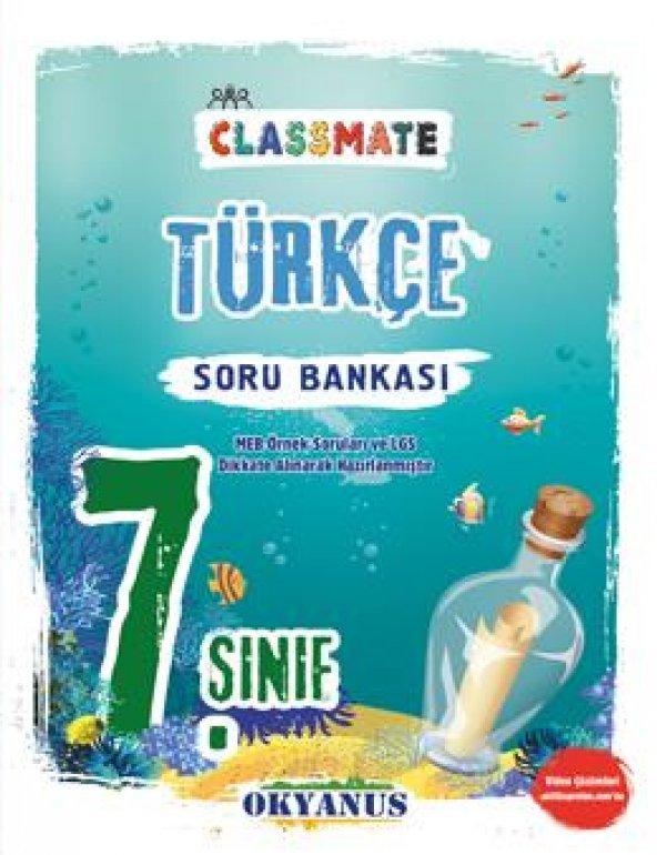 7. Sınıf Classmate Türkçe Soru Bankası Okyanus Yayınları