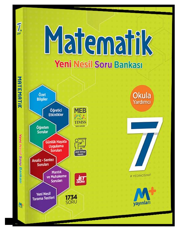 7. Sınıf Matematik Yeni Nesil Soru Bankası Martı Yayınları