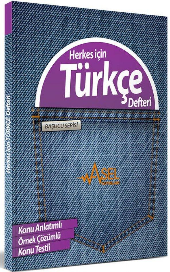 Başucu Serisi Herkes için Türkçe Defteri Asel Yayınları