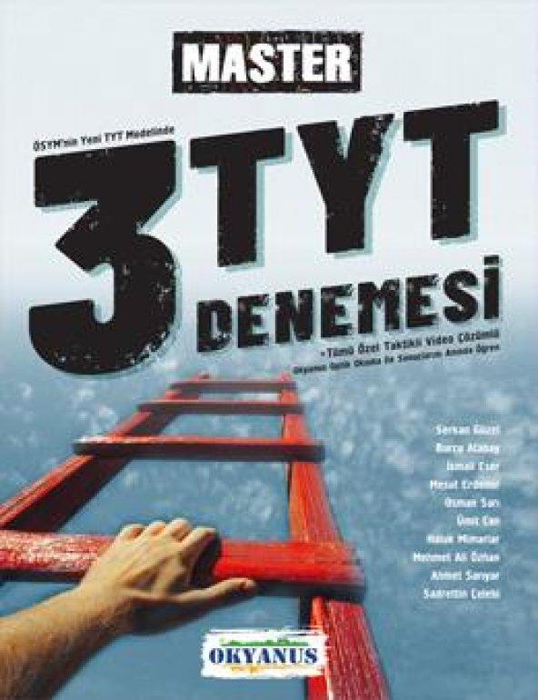 TYT Master 3 Deneme Okyanus Yayınları