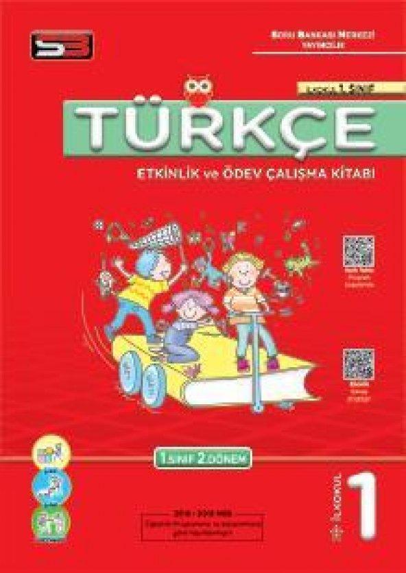 Soru Bankası Merkezi 1.Sınıf Türkçe Etkinlik ve Ödev Çalışma