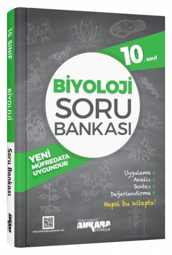 10. Sınıf Biyoloji Soru Bankası Ankara Yayıncılık