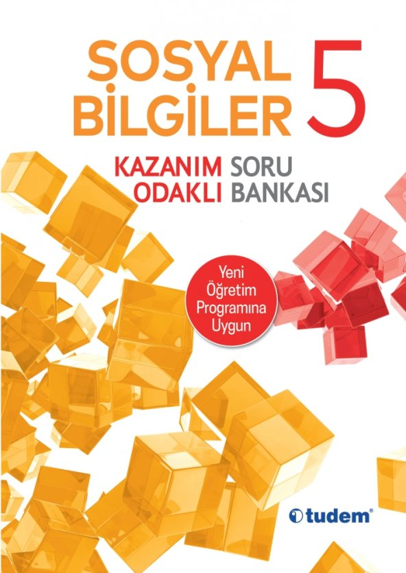 5. Sınıf Sosyal Bilgiler Kazanım Odaklı Soru Bankası Tudem Yayınl