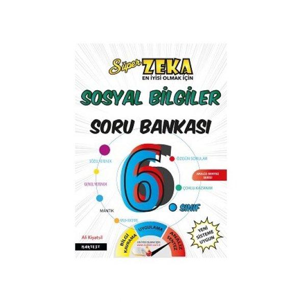 Nartest 6. Sınıf Süper Zeka Sosyal Bilgiler Soru Bankası