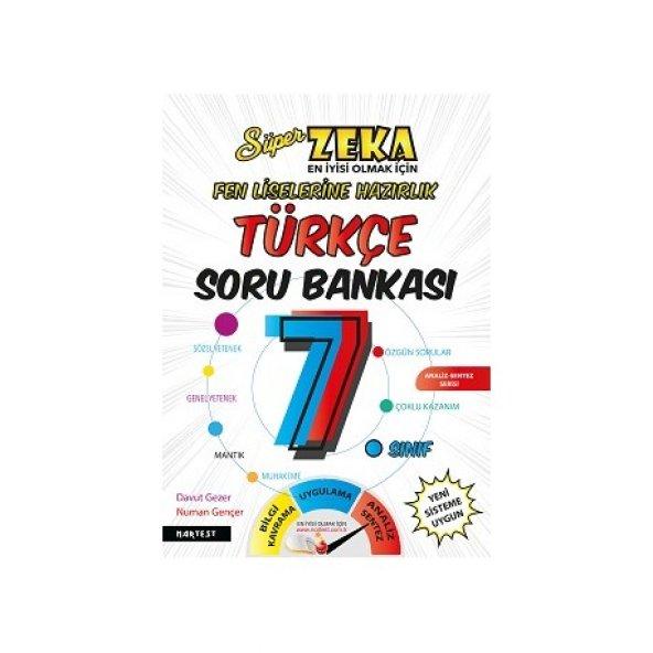 Nartest 7. Sınıf Süper Zeka Türkçe Soru Bankası