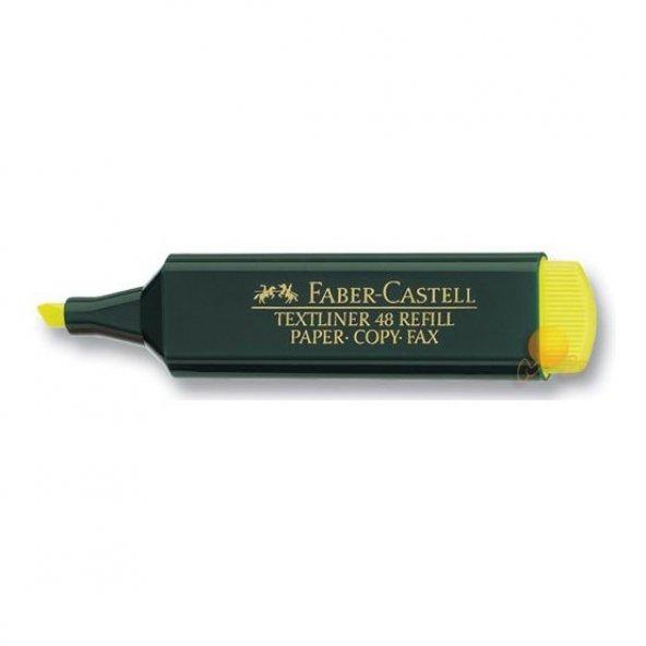 Faber-Castell Fosforlu Kalem Sarı