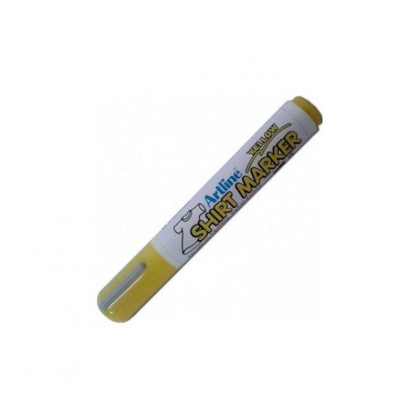 Artline Kumaş Kalemi Sarı