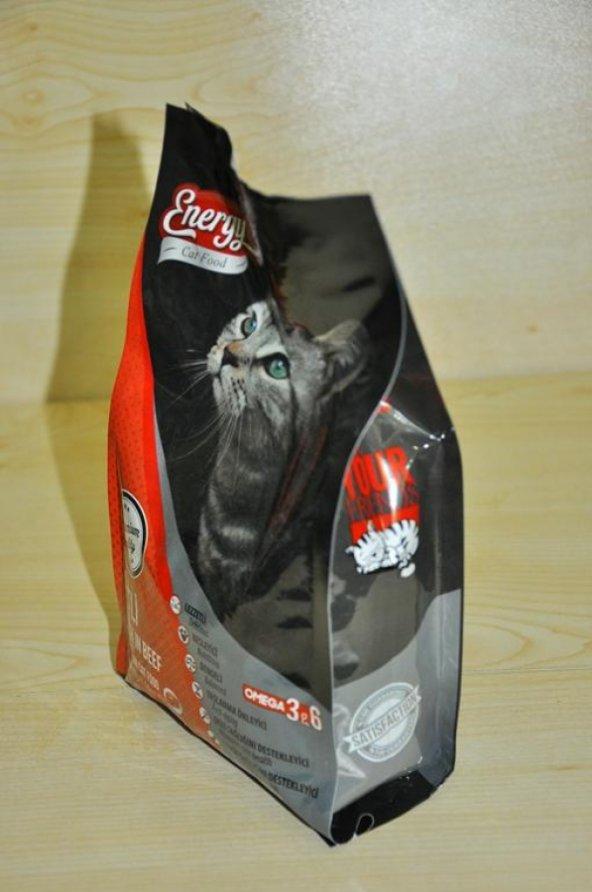 500 gr yetişkin Etli kedi maması Energy