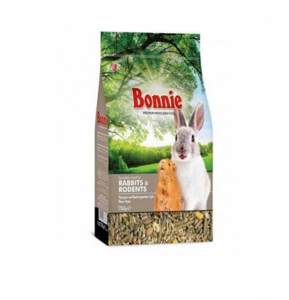 Bonnie Tavşan Hamster Kemirgen Yemi 750gr skt:19/07/2021