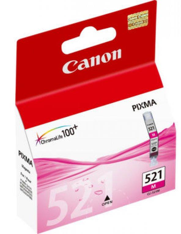 CANON CLI-521M KIRMIZI ORJINAL KARTUŞ MP540/MP620/MP630
