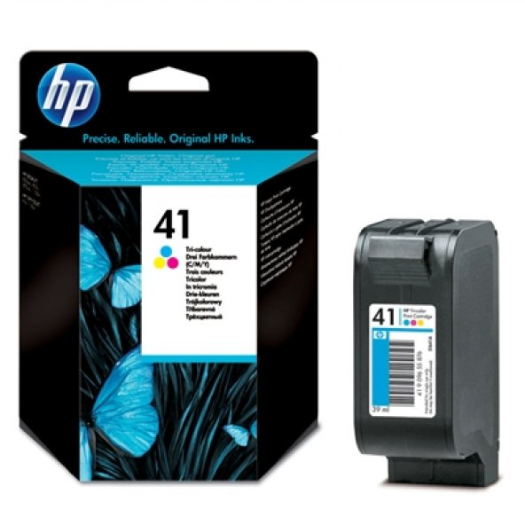HP 41 51641A/51641AE RENKLI ORJINAL KARTUŞ