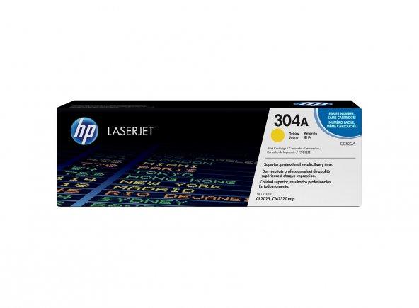 HP 304A CC532A SARI ORJINAL TONER CP2020/CP2025/CM2320