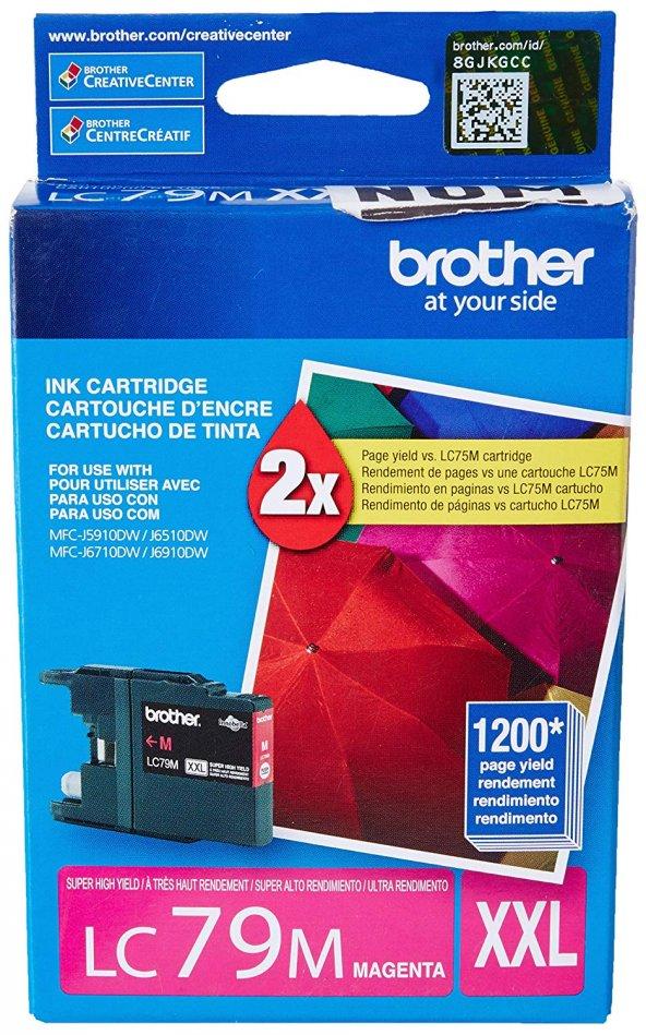 BROTHER LC79M XXL KIRMIZI ORJINAL KARTUŞ J5910DW/J6510DW/J6710DW