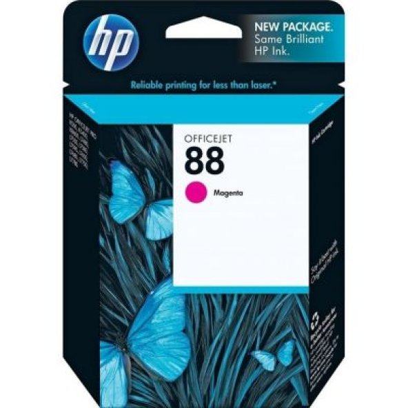 HP 88 C9387A/C9387AL KIRMIZI ORJINAL KARTUŞ K-5400/550/8600