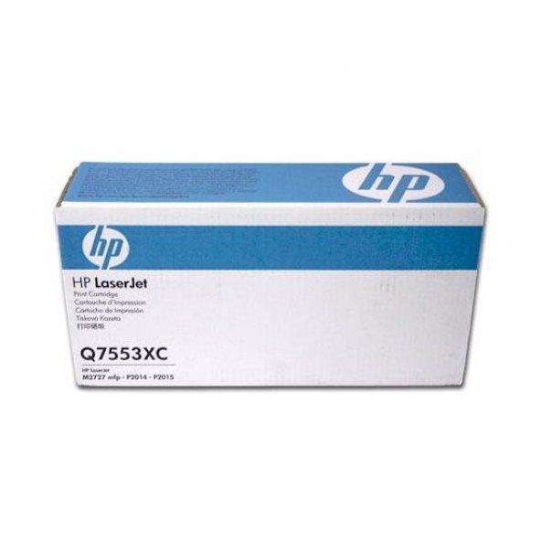 HP 53X Q7553XC SIYAH ORJINAL TONER P2014/P2015/M2727